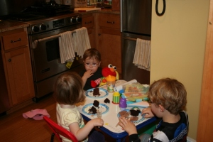 """I have finally reached that age where a party at my house has a """"kids table.""""  And I'm not sitting at it."""
