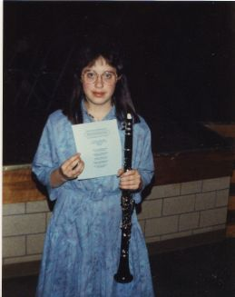 May, 1988.  I played clarinet!  This is a month before i turned 13.