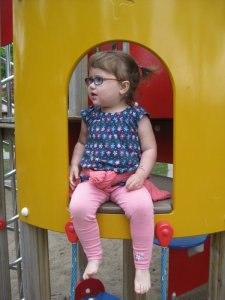 hanging out at the playground