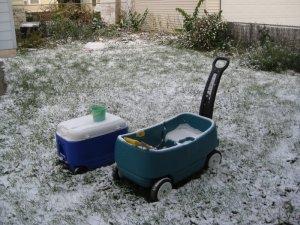 snow Oct 9, 2009